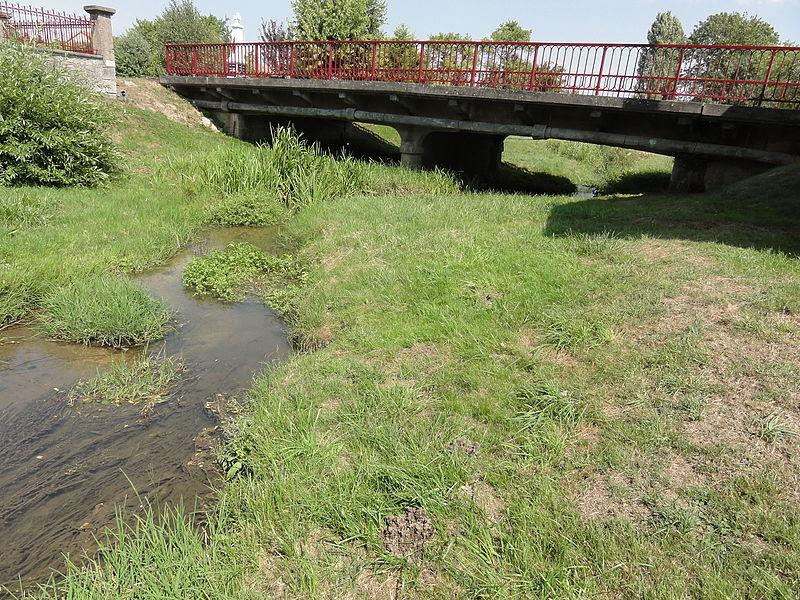 Moranville (Meuse) Eix (rivière) et pont