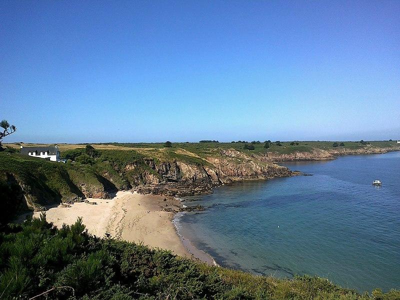 Morbihan Houat Cote Nord Est Plage Gorle