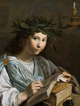 Johannes Moreelse - Image: Moreelse Clio muse of history