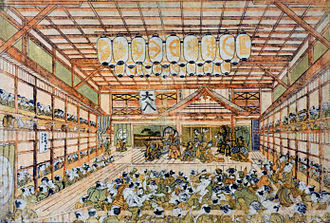 Okumura Masanobu - Image: Morita za in the 1790s
