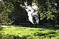 Moscow, VDNKh, steaming vent in the park (10656374345).jpg