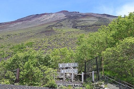 Mount Fuji from Fujinomiyaguchi s2