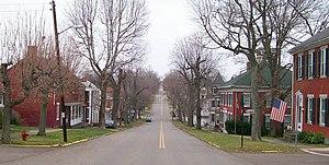 Mount Pleasant, Ohio - Union Street in Mount Pleasant