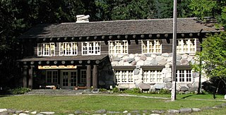 National Park Service rustic Style of architecture developed in 20th century for the United States National Park Service
