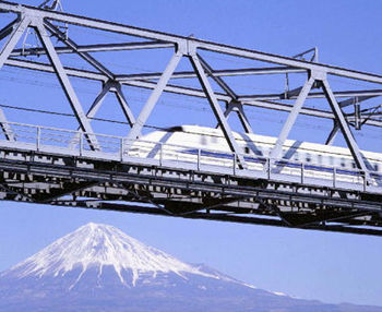 Mt. Fuji and Shinkansen