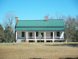 National Register of Historic Places listings in Gadsden County, Florida - Image: Mt Pleasant FL Davis House 01