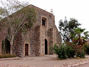 Spanish missions in Baja California - Misión Santa Rosalía de Mulegé in Baja California Sur