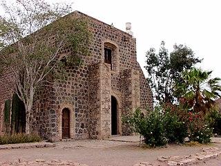 Spanish mission in Baja California Sur, Mexico