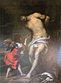 Musée de l'archerie st Sébastien soigné par un ange gerard seghers XVII.JPG