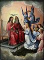 Musée du Louvre - Michel Sittow - Le Couronnement de la Vierge par les Anges.JPG