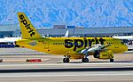 """N534NK Spirit Airlines 2008 Airbus A319-132 (cn 3395) """"Home of the BARE FARE"""" (15107673520).jpg"""