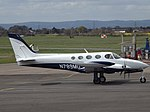 N789MD Cessna 340 (26176441080).jpg