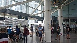 Light Rail Transit (Singapore) - Punggol LRT station, one of the stations on the PGLRT.