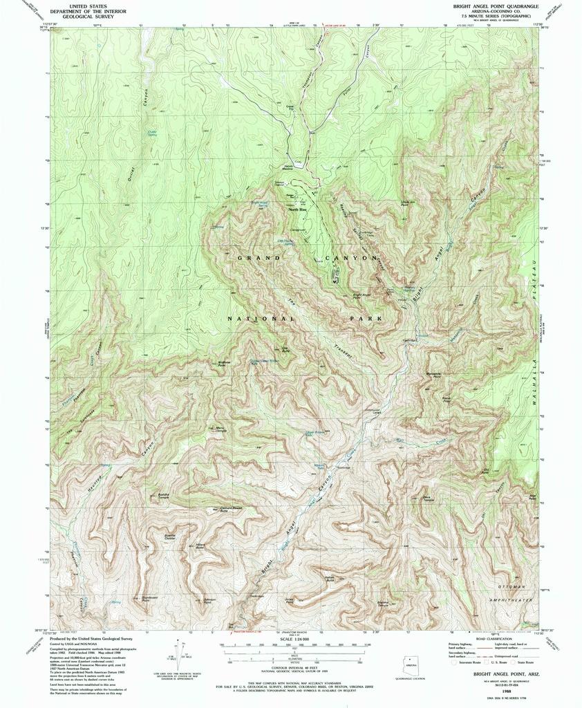File Nps Grand Canyon North Rim Topo Map Pdf Wikimedia Commons