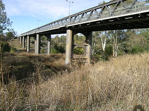 Namoi River - Bridge over the Namoi River, Manilla.