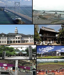 Naruto, Tokushima City in Shikoku, Japan