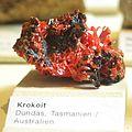 Naturkundemuseum Berlin - Krokoit, Dundas, Tasmanien, Australien.jpg