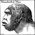 Neanderthal Man - The Outline of History, H.G. Wells.png