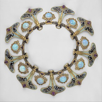 René Lalique - Image: Necklace MET DT1423