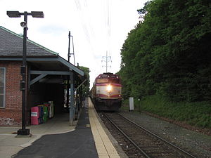 Needham, Massachusetts - Needham Junction MBTA Station