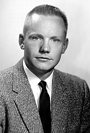 A portrait of Neil Armstrong taken November 20, 1956 while a test pilot at the NACA High-Speed Flight Station at Edwards Air Force Base, California.