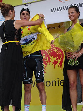 Neufchâteau - Tour de Wallonie, étape 3, 28 juillet 2014, arrivée (E13).JPG