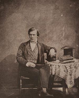 Nevil Story Maskelyne - Portrait of Neville Story-Maskelyne taken by Henry Fox Talbot