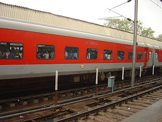 Indian Railways - The Mumbai Rajdhani Express. The long-distance, high-speed Rajdhani Expresses connect state capitals and large cities with New Delhi.