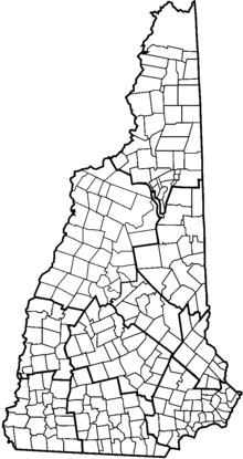 New England Town Wikipedia - Map of new hampshire towns