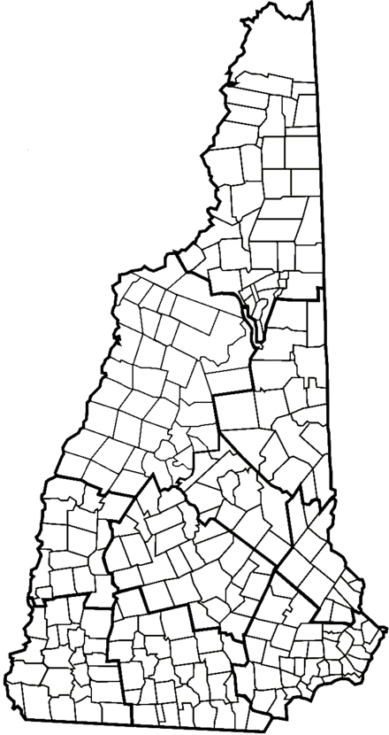 New England Town Wikiwand - New hampshire map towns