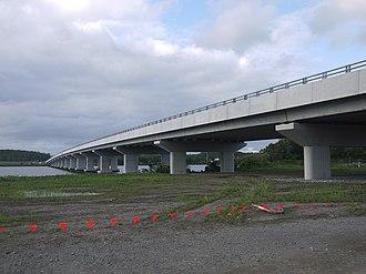Hastings River - Image: New Hastings River Bridge on Pacific Motorway