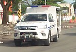 New Toyota Hilux 4x4 Modified Police Car of 13th Regional Public Safety Battalion.jpg