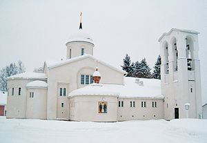 New Valamo - New Valamo monastery today.