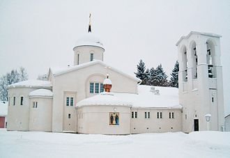 Valaam Monastery - New Valamo monastery in Heinävesi, Finland.