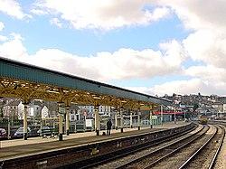 Newport High Street railway station