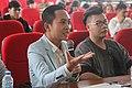Nguyễn Hoàng Khắc Hiếu trong buổi chung kết Sony đánh thức ý tưởng tâm lý học 2.jpg