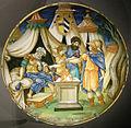 Ngv, francesco xanto avelli, piatto con muzio scevola, 1534.JPG