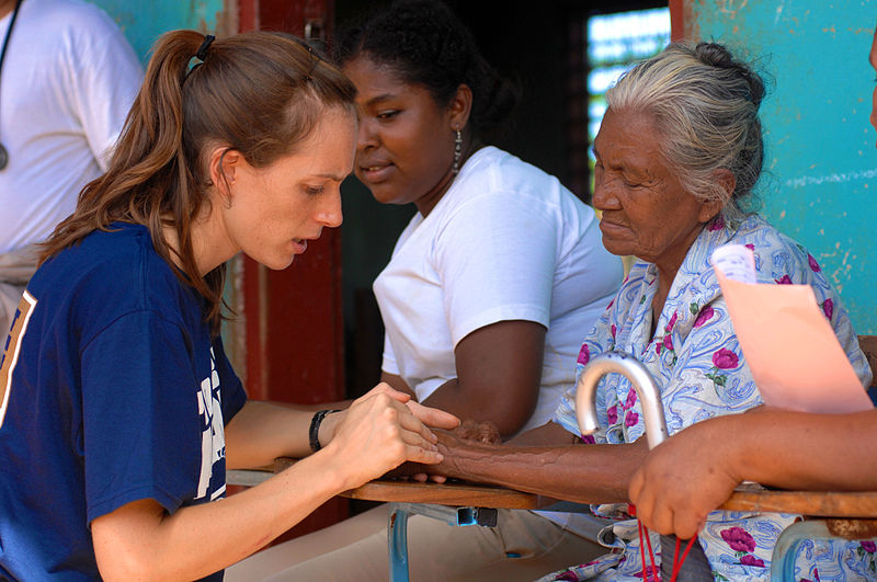 File:Nicaraguan Residents Receive Care at High School Clinic During Continuing Promise 2008 DVIDS109439.jpg