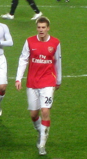 Danish football (soccer) player Nicklas Bendtner
