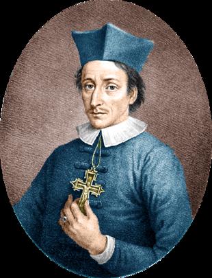 Portrait of Steno as bishop
