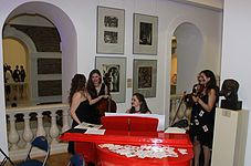 Night of Museums 2014 in National Art Museum of Belarus 05.JPG