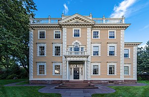 John Nicholas Brown II - Brown's family home, the Nightingale–Brown House, built in 1792.