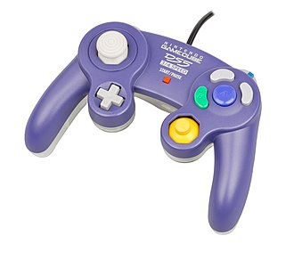 GameCube controller - The prototype GameCube controller that was included with development system.
