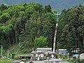 Nishitenryu power station penstock.jpg