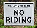 No riding - geograph.org.uk - 663133.jpg