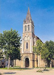 Nogaro, Saint-Nicolas church