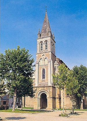 Nogaro - Saint-Nicolas church