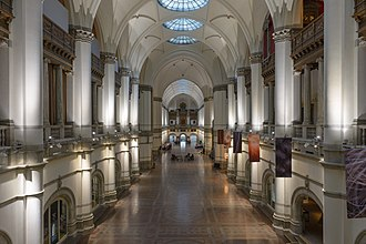 Nordic Museum - The main hall.
