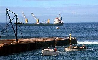 Kingston, Norfolk Island - Image: Norfolk Island jetty 2