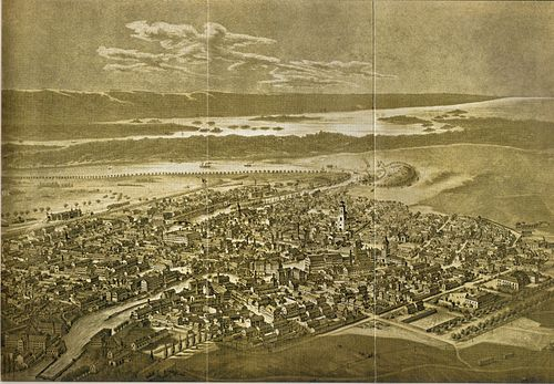 Norrkoping in 1876. Norrkoping 1876.jpg